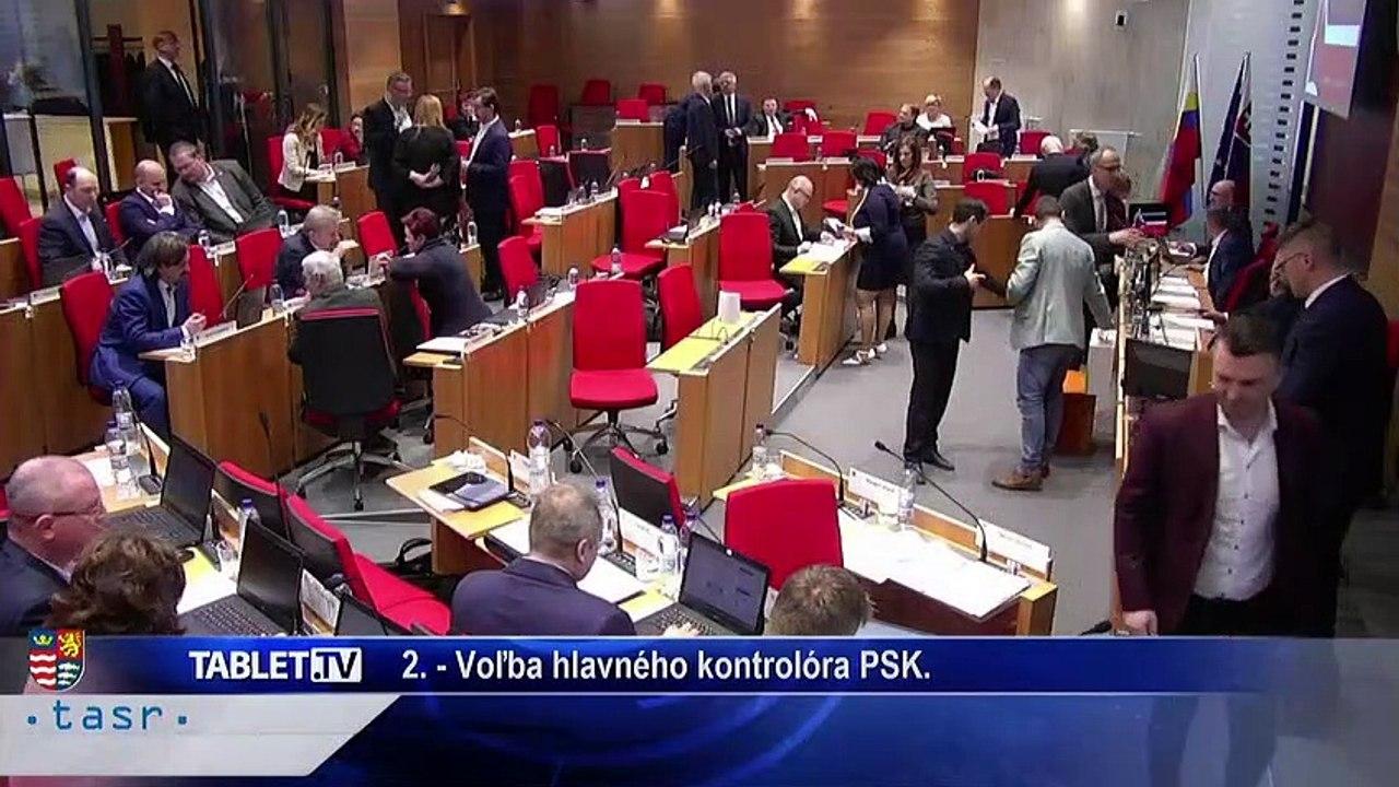 PREŠOV-PSK 18: Záznam zasadnutia Zastupiteľstva Prešovského samosprávneho kraja (PSK)