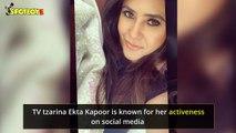 Ekta Kapoor Is Blown Away By Krystle D'Souza's Beauty, Calls Her 'Khoobsurat Bachchi'