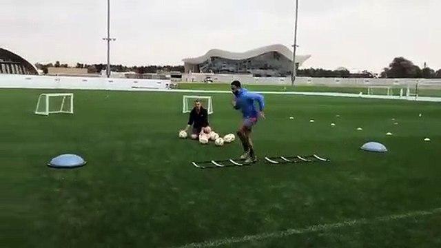 La vidéo dingue de Memphis Depay à l'entraînement