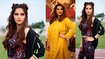 89 kgs vs 63 kgs: Sania Mirza Lost Pregnancy Weight Of 22 Kgs In 4 Months | Boldsky