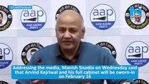 Massive victory proved that Delhiites love politics of work: Manish Sisodia