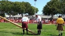 Découvrez le lancer de caber, ce sport traditionnel de l'Ecosse.