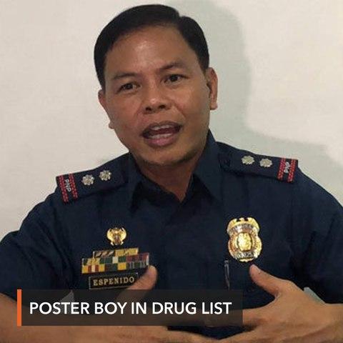 Drug war poster boy Jovie Espenido is in Duterte drug list