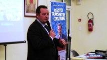 CARPENTRAS Jean-Frédéric Poisson soutient Bertrand de la Chesnais en prônant l'union des droites