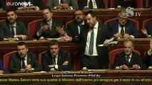 Senado aprova levantamento da imunidade a Salvini