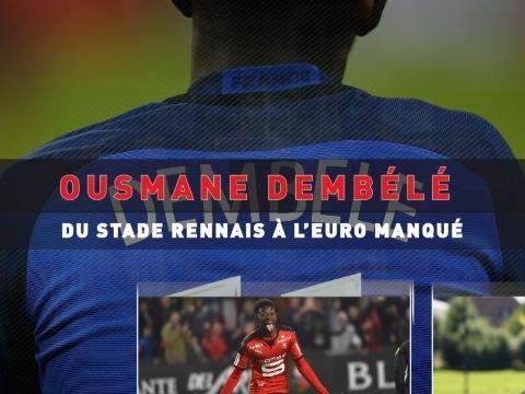 Bleus - Ousmane Dembélé, du Stade Rennais à l'Euro manqué