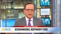 Massive Fire Breaks Out At Exxon Refinery In Baton Rouge, Louisiana