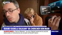 Regardez la séquence insolite de Patrick Balkany qui téléphone à Isabelle Balkany alors qu'elle l'attend devant la prison de la Santé - VIDEO
