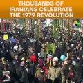 Thousands Of Iranians Celebrate The 1979 Revolution