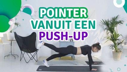 Pointer vanuit een push-up - Ik Ben Fit