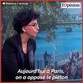 Municipales à Paris: Rachida Dati ne veut pas du 100% vélo d'Anne Hidalgo