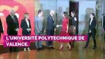 Letizia d'Espagne voit la vie en rose avec son dernier look