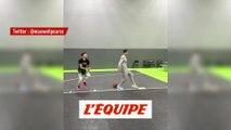 L'incroyable dunk d'un Harlem Globetrotter - Basket - WTF