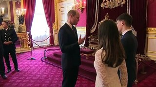 Duke of Cambridge hosts reception for police orphans fund