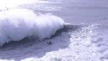 Alex Botelho Survives Jet Ski Incident at 2020 WSL Nazaré Tow Surfing Challenge