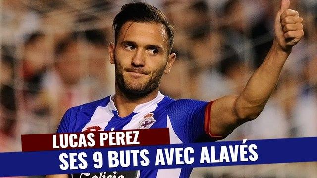 Liga : Tous les buts de Lucas Pérez