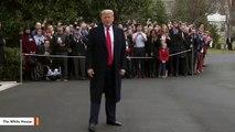 Trump Urges Senate To Vote Against  Iran War Powers resolution