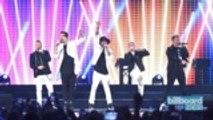 Backstreet Boys Talk Competing With *NSYNC | Billboard News