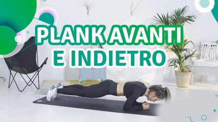 Plank avanti e indietro - Siamo Sportivi