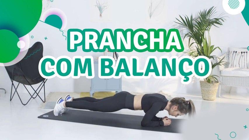 Prancha com balanço - Sou Fitness