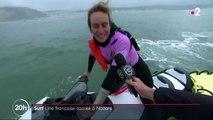 Surf : une Française sacrée à Nazaré