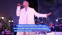 John Legend's 'All of Me' Named Spotify's Top Love Song