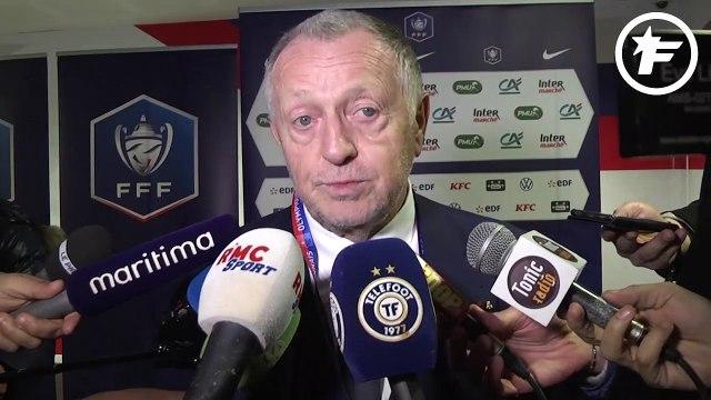 Coupe de France : Jean-Michel Aulas est aux anges