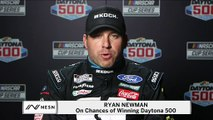 Ryan Newman On Chances Of Winning Daytona 500