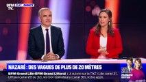 Portugal: des vagues de plus de 20 mètres à Nazaré - 12/02