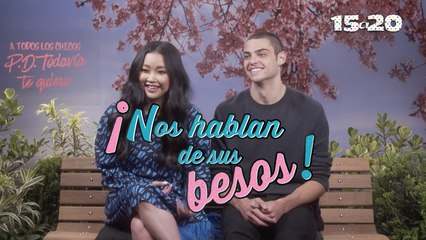 Lana Condor y Noah Centineo, ¡Nos hablan de sus besos!