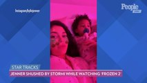 Kylie Jenner Gets Shushed by Daughter Stormi While Watching Frozen 2: 'She's Really Into It'