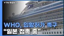 """WHO """"크루즈선 입항 허가해야...일본과 접촉 중"""" / YTN"""
