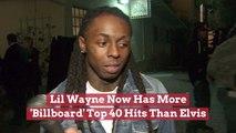 Lil Wayne Beats Elvis In Hints