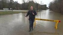 Flooded communities facing more rain