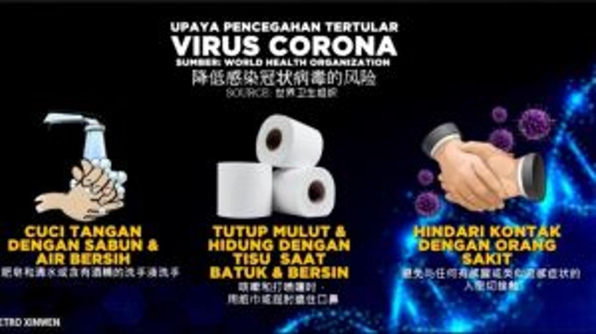 Tips Mencegah Penularan Virus Corona