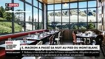 Regardez les images d'Emmanuel Macron qui a passé la nuit en altitude dans un refuge-hôtel en altitude afin de promouvoir des mesures en faveur de l'écologie et de la biodiversité