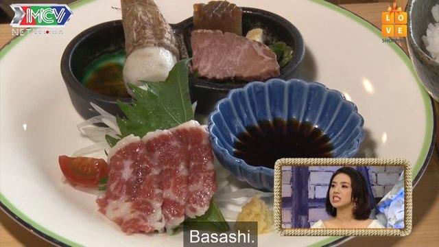 KUMAMOTO'S LOCAL DISH : HOURSE MEAT