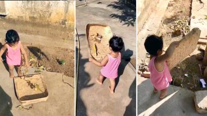 Viral Video: 1 Year Old Kid Swachh Bharat Video Goes Viral