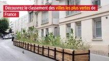 Découvrez le classement des villes les plus vertes de France