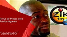 Revue de Presse du 13 Fevrier 2020 avec Fabrice Nguema