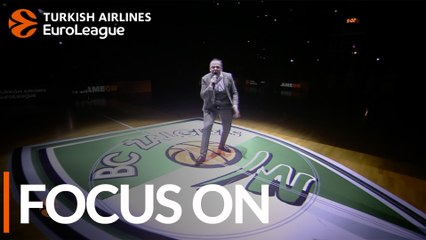 Andrius Ziurauskas, Zalgiris announcer: 'We are really crazy about Zalgiris'