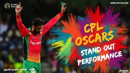 CPL OSCARS | STAND OUT PERFORMANCE | #CPLOscars #CPL20 #CricketPlayedLouder #BiggestPartyInSport