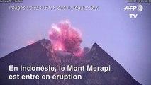 Indonésie: le volcan Merapi crache des cendres jusqu'à 2 km dans le ciel