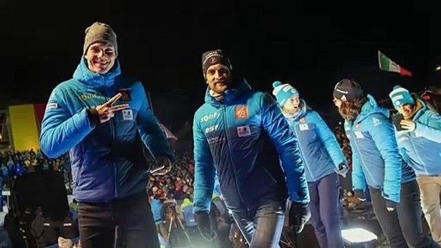 Biathlon | Antholz : La cérémonie d'ouverture des mondiaux en images
