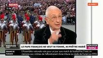 L'Abbé de la Morandais réagit à la décision du Pape François de ne pas autoriser les prêtres à se marier - VIDEO