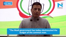 Cong accuses PM of ''electrocuting'' common man's budget, demands rollback of LPG price hike