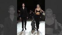 Miley Cyrus makes catwalk debut at New York Fashion Week