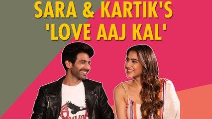 Sara Ali Khan & Kartik Aaryan's Love Confessions | Love Aaj Kal