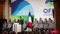CHAMONIX    Emmanuel Macron parle du Mont-Blanc