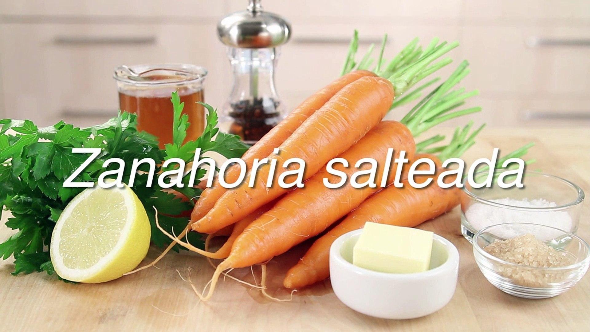 Receta De Zanahoria Salteada Video Dailymotion Plato saludable y fácil de hacer. dailymotion
